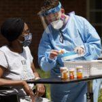 Nurse Giving Patient Medication